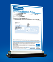 AHRI Certificate of Product Ratings - Ref. No. 7117127