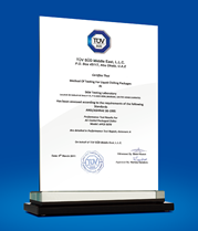 TÜV-SÜD Certification for APCD 5070