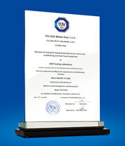 TÜV-SÜD Certification for PACF 5029