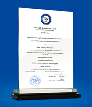 TÜV-SÜD Certification for PACH 5109