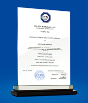TÜV-SÜD Certification for Fan Coil Unit & Condensing Unit