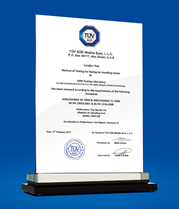 TÜV-SÜD Certification for Modular Air Handling Unit 100